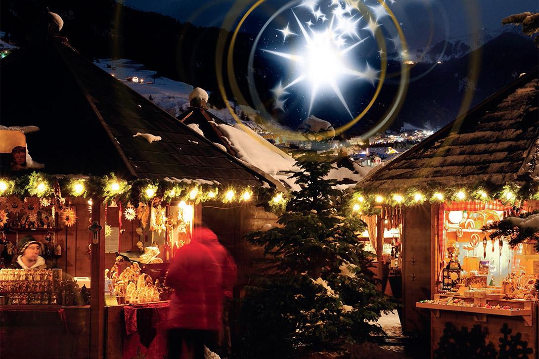 Mercatini di Natale a Campitello di Fassa Dolomiti