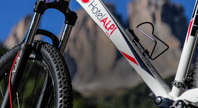 Mountain bike Hotel Alpi