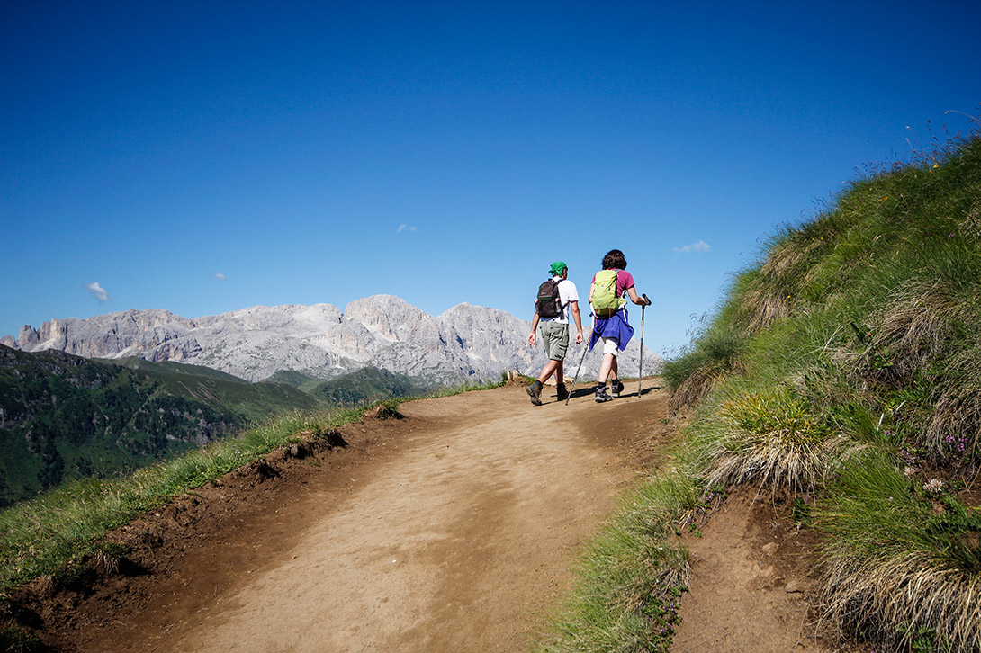 Escursione Col Rodella, Val Duron in Val di Fassa