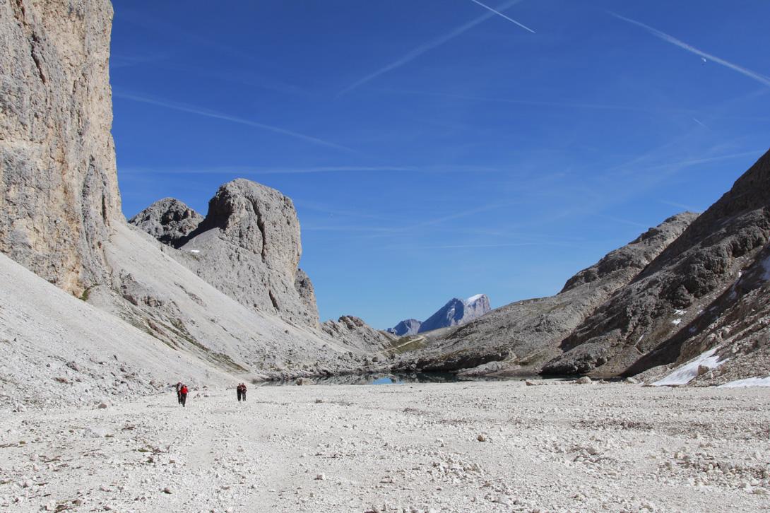 Escursione dal Gardeccia ai rifugi Preuss, Vajolet, Principe e al lago d